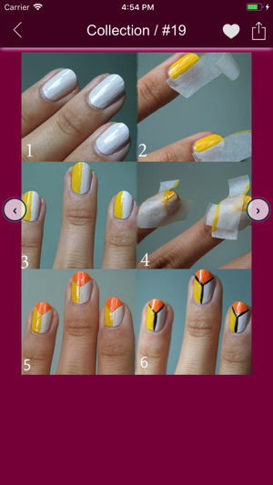 Nail Art Designs Step By Step On The App Store