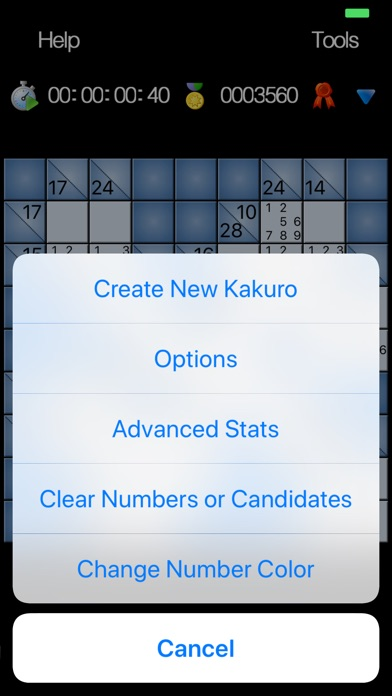 Kakuro - No Ads Edition screenshot 8