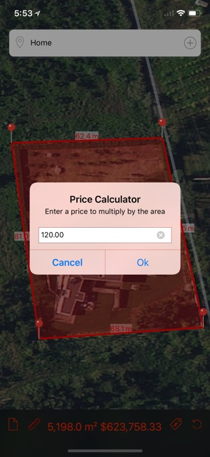 Marea - Map Area Calculator on the App Store on map services, map projects, map of england, map of bristol tn area, radius calculator, map of texarkana area,