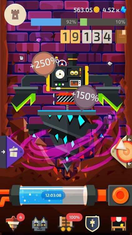 Drilla: Idle Gold Miner Game screenshot-7