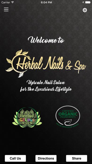 Herbal Nails & Spa screenshot one