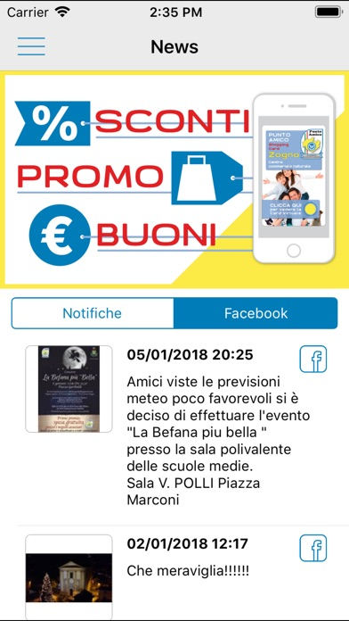 Screenshot for Punto Amico in Viet Nam App Store