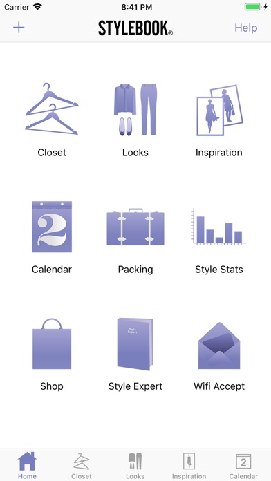 Stylebook review screenshots