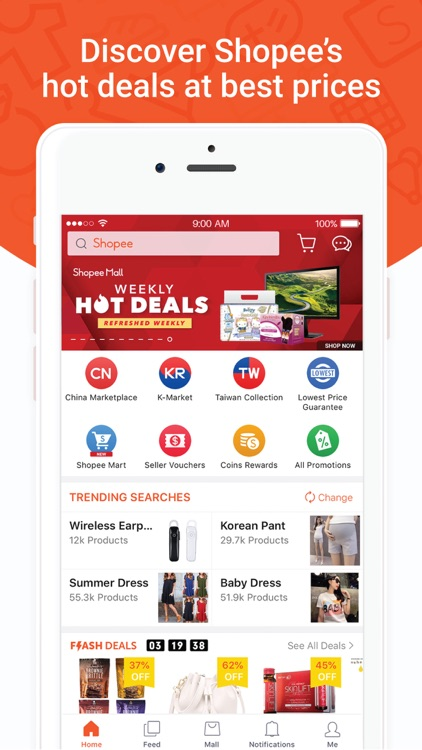 Shopee SG:Hot Deals Best Price screenshot-0