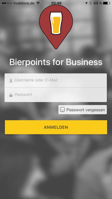 Bierpoints for BusinessScreenshot von 1