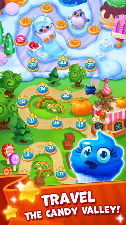 Candy Valley - Match 3 Puzzle screenshot-0