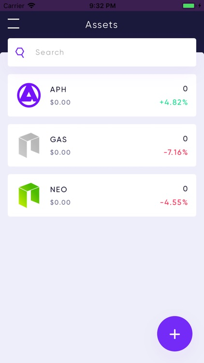 Aphelion Mobile Wallet