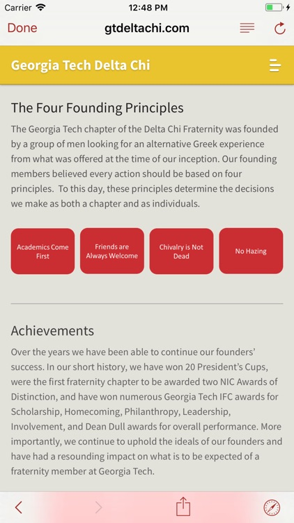 Delta Chi Hotline screenshot-2