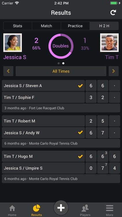 Smashpoint Tennis Tracker screenshot-4