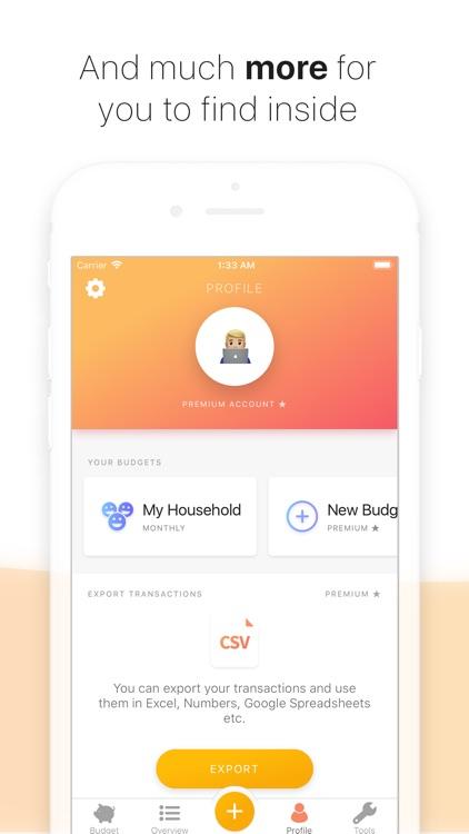 Buddy - Easy Budgeting screenshot-7