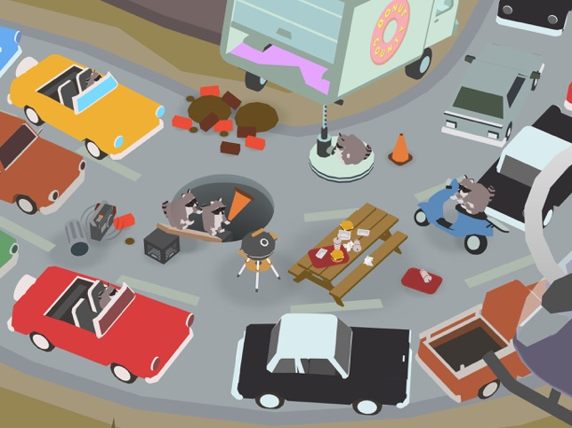 Donut County Screenshot