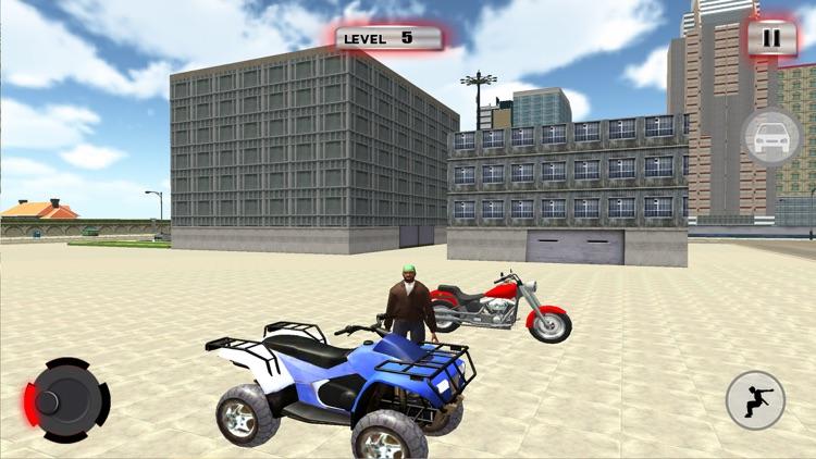 ATV Quad Bike Taxi: City Rider