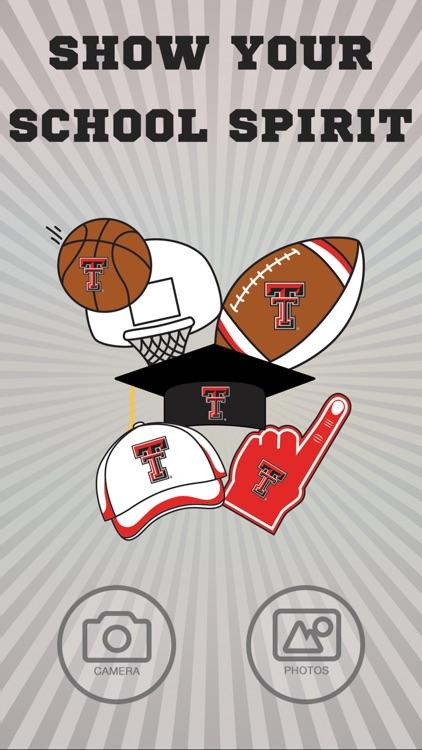 Texas Tech Red Raiders PLUS Selfie Stickers