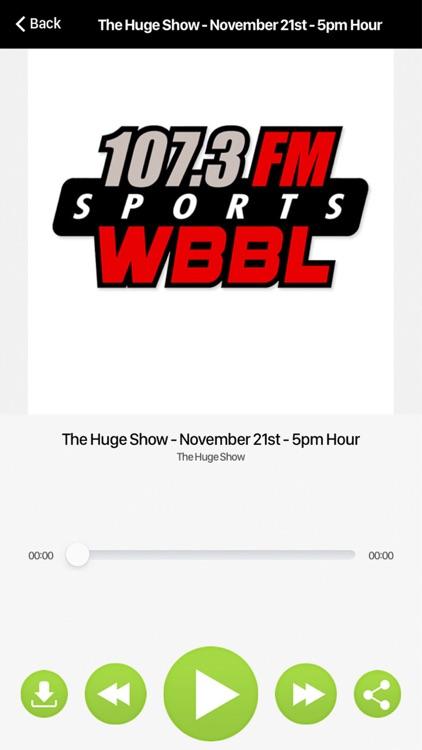 107.3 WBBL-FM screenshot-3