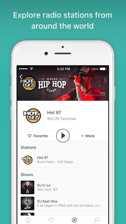 TuneIn Radio - Music & Podcast screenshot-4