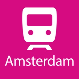Amsterdam Rail Map Lite