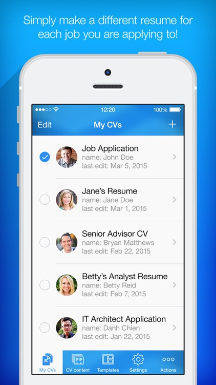 resume builder resume creator by pocketsoft llc