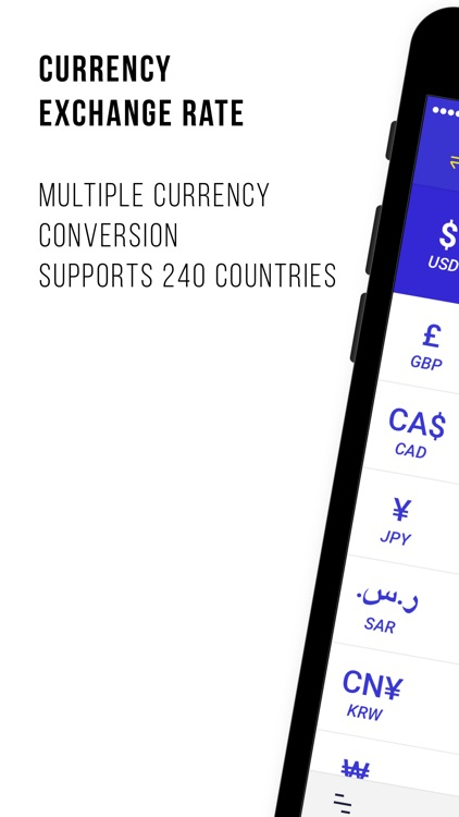 Currency Exchange Rate - Calculate 200+ Country