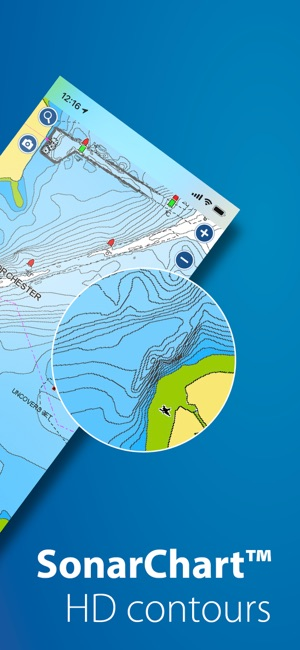 Elevation Map Of Florida.Boating Marine Lakes On The App Store