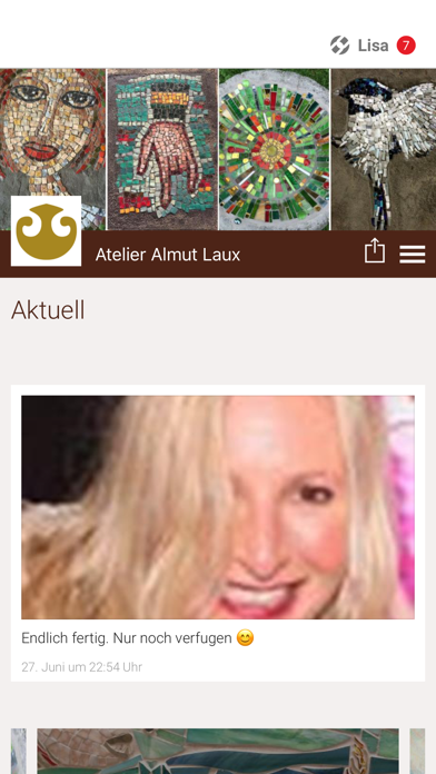Atelier Almut Laux screenshot 1