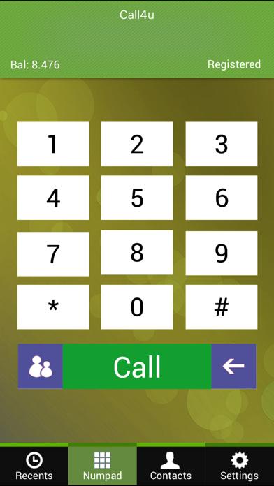 Call4U screenshot three