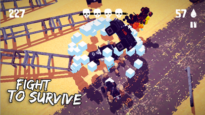 Screenshot from Fury Roads Survivor