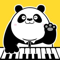 熊猫电子琴-一对一钢琴陪练乐器学习钢琴早教