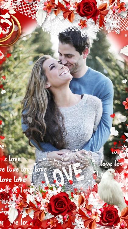 Romantic Love Photo Frame by Chirag Finaviya
