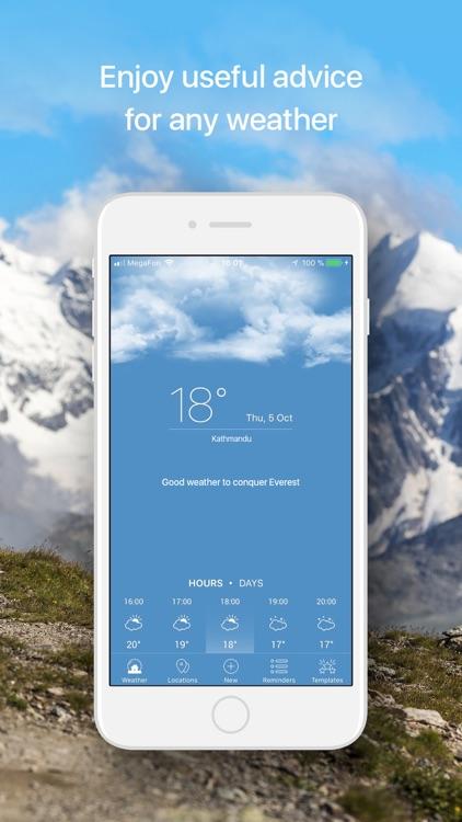 Weather Reminder Custom Alerts screenshot-3