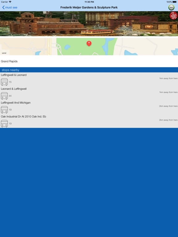 Grand Rapids Transport Guide screenshot 7