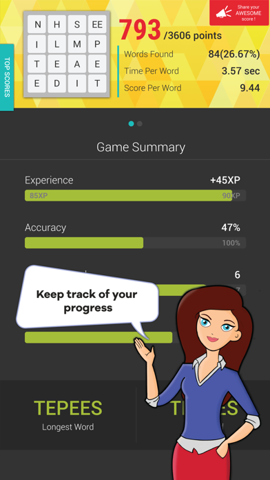 Wordathon: Classic Word game screenshot three