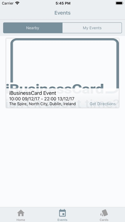 iBusinessCard screenshot-2