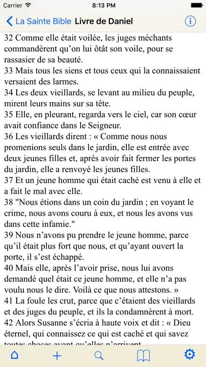 La Sainte Bible (avancée) screenshot-4