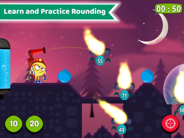 Maths Rescue Year 3, 4,5 Games Screenshot