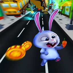 Rabbit Subway Surfers - Endless Run