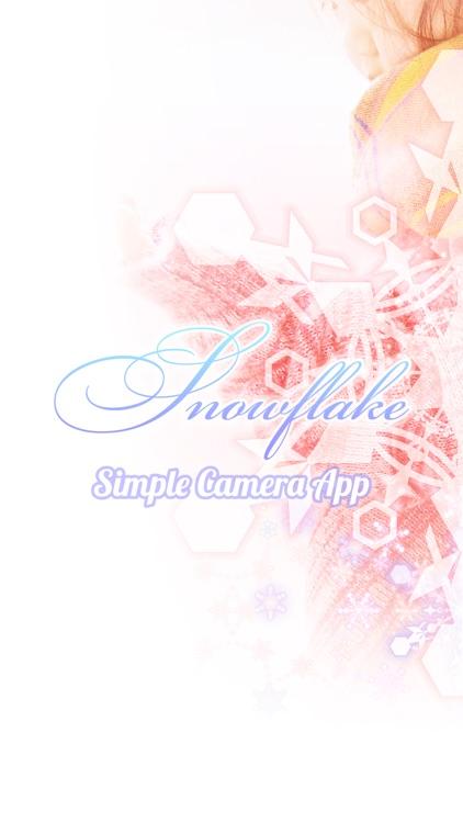 Snowflake -Simple Camera App-