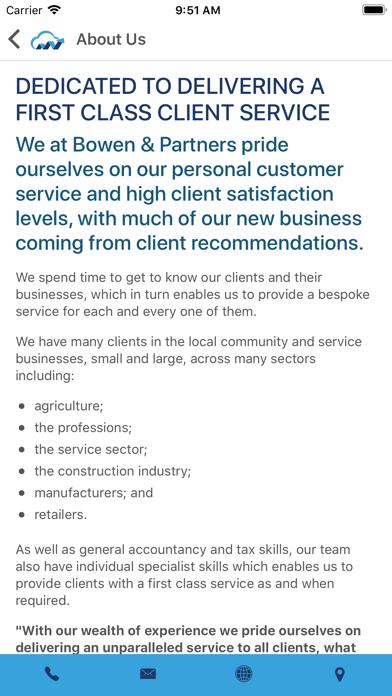 Bowen & Partners - Accountants screenshot two