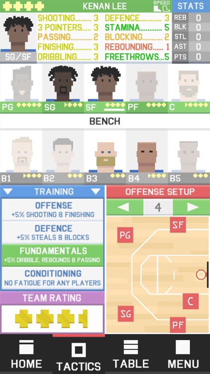 Supertactix Basketball screenshot-4