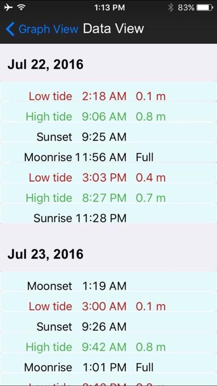 real tides gps screenshot-4