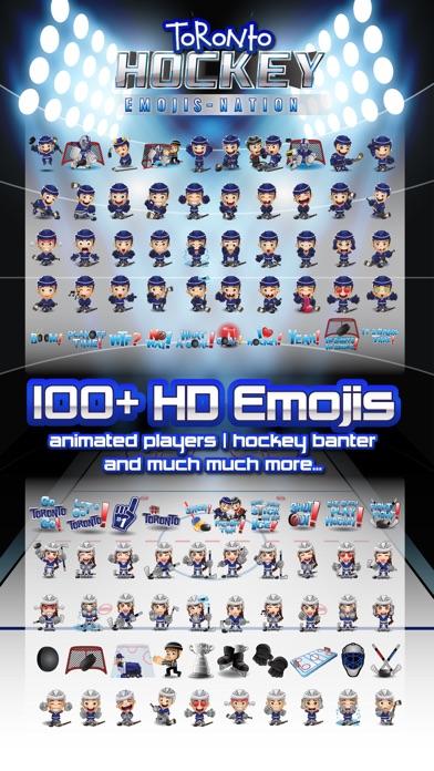 Toronto Hockey Emojis Screenshot 1