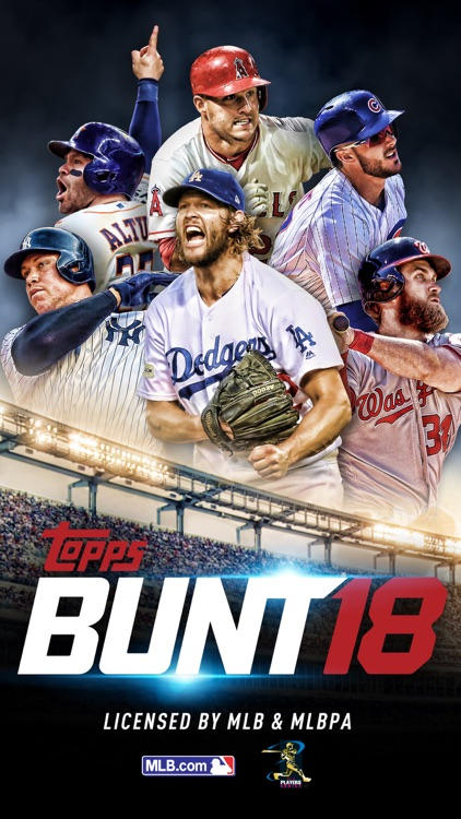 MLB BUNT Baseball Card Trader screenshot-0