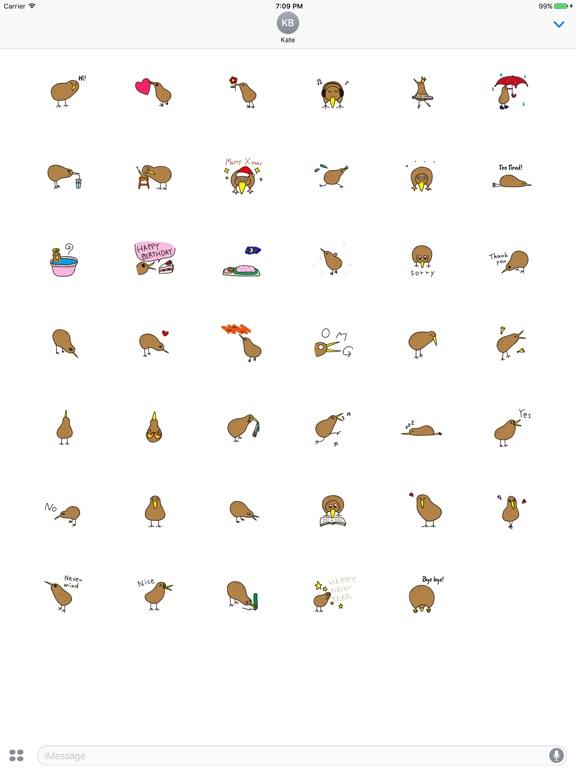 Kiwi The Lonely Bird Sticker screenshot 4