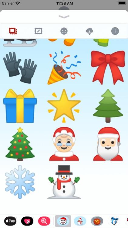 Christmas Emoji • Stickers screenshot-9