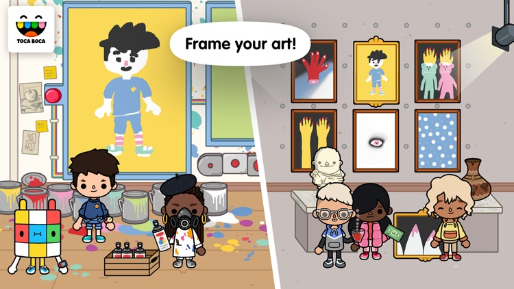 Toca Life: After School screenshot-3