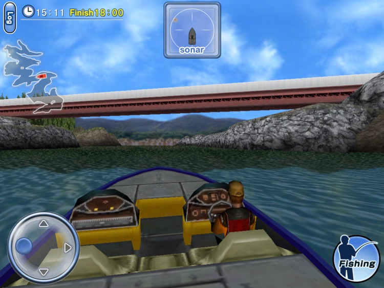 Bass Fishing 3D HD screenshot-2
