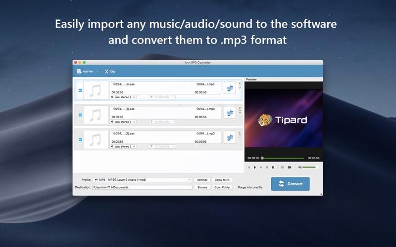 MP3 音频转换软件 Any MP3 Converter   for Mac