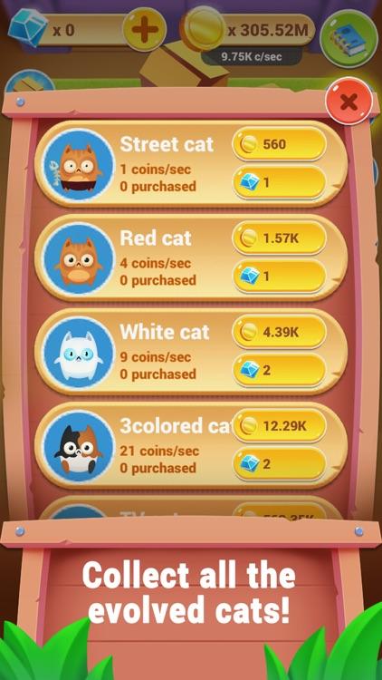 Cat Evolution Clicker screenshot-3