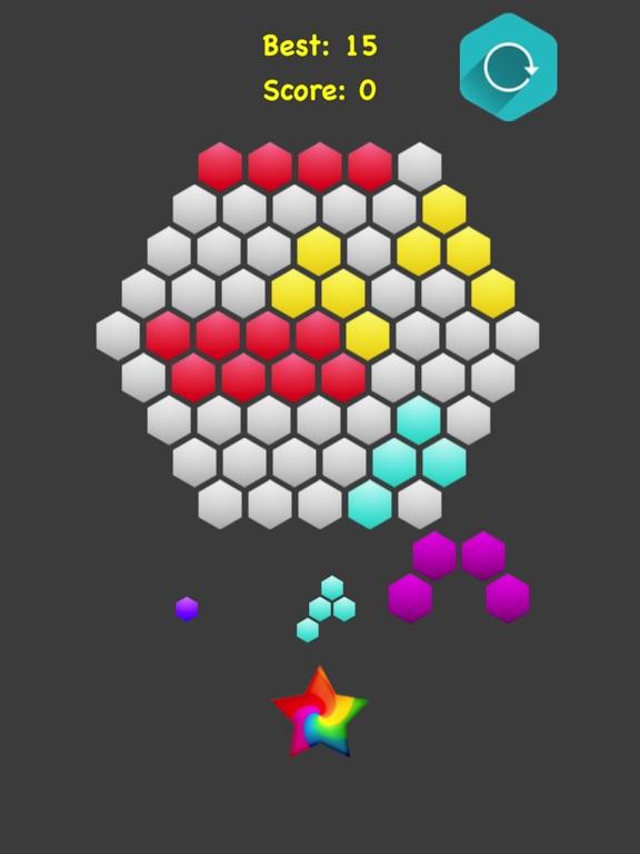 Hexagonal Merge. screenshot 6