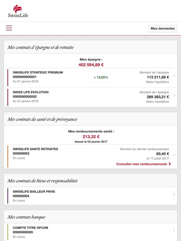 Telecharger My Swiss Life Pour Iphone Ipad Sur L App Store Finance