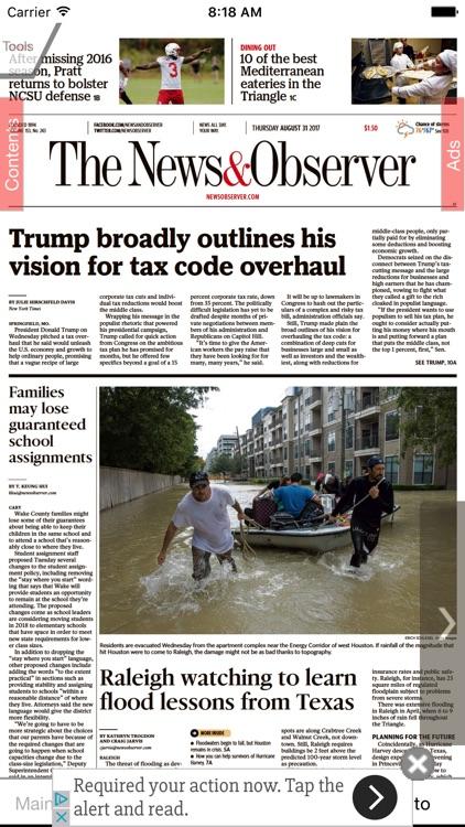 News & Observer eEdition